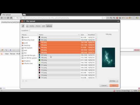 JavaScript Tutorials: AJAX File Upload with Progress Indicator (Part 5/5)