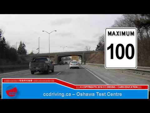 Oshawa test centre   G road test2