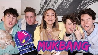 FIRST EVER MUKBANG W/ EX-ROOMMATES!!