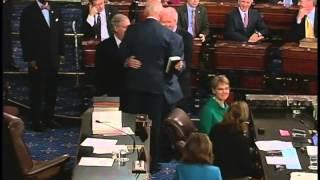 Senator Hatch Sworn in as Senate pro tempore