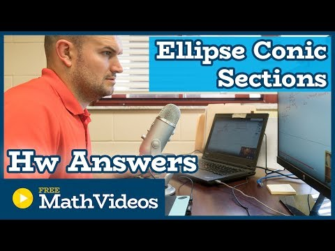 Conic Sections All about the Ellipse HW