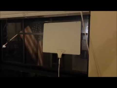 Mohu Leaf 50 Indoor HDTV Antenna - Unboxing and Configuration