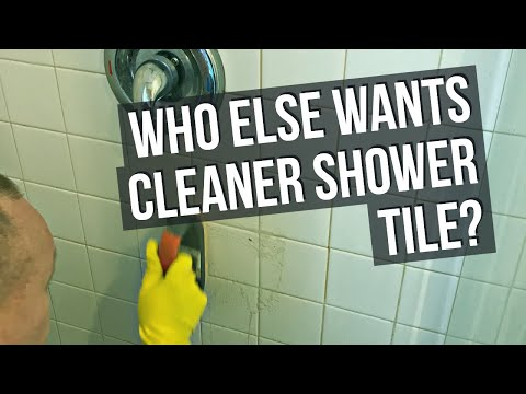 Detailed Tile Shower Cleaning and Restoration