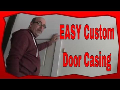 How To Custom Build Door Jamb Trim, DIY Craftsman Style Door Casing