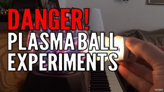 Download Plasma Ball Experiments with Bulbs and iPhone Video