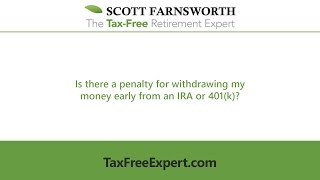 Is There A Penalty For Withdrawing My Money Early From An Ira Or 401k