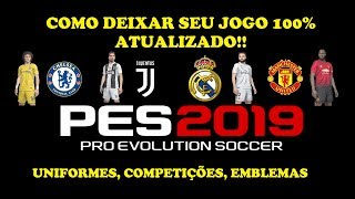 PS4]PES2019 - Option File Full V5 5 - EQ  EMERSON PEREIRA