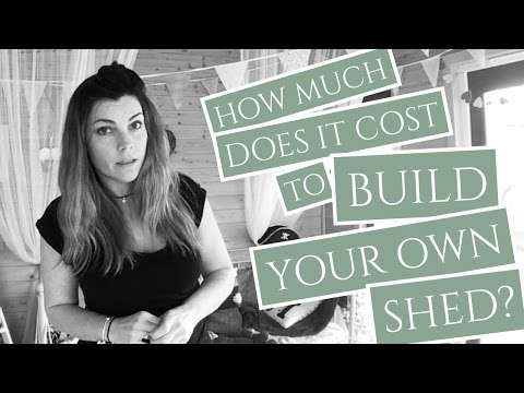 How Much Does it Cost to Build Your Own Shed?
