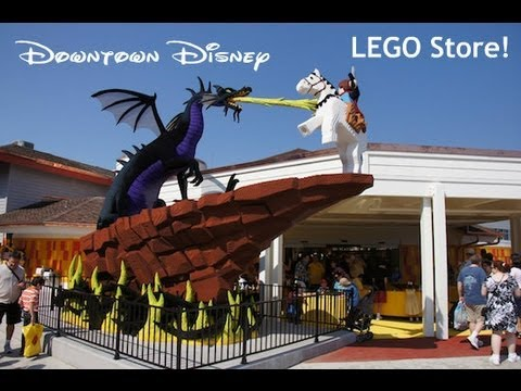 My Trip To LEGO Store at Downtown Disney in ORLANDO FL & Small LEGO Haul!