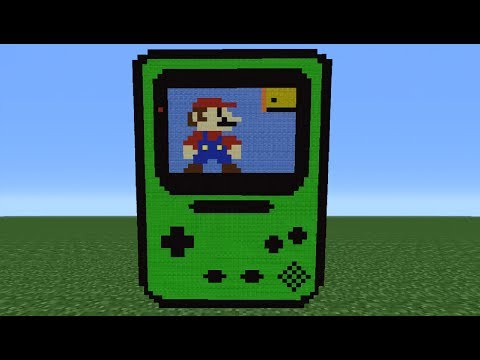 Minecraft 360: How To Make A Gameboy Colour