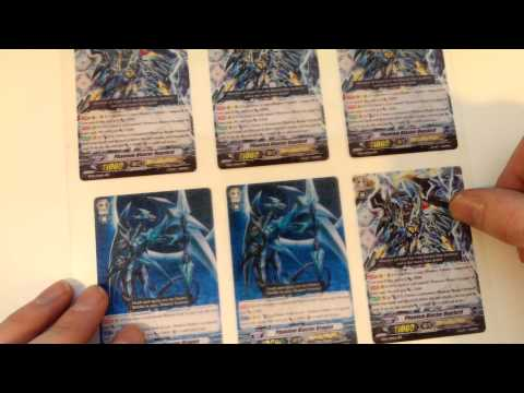 How To Make Cardfight! Vanguard Proxies