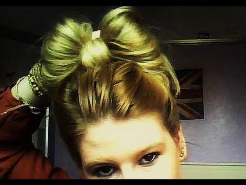 EASY HAIR TUTORIAL: CUTE HAIR BOW (HOW-TO) IN 2 MINUTES! FOR MEDIUM TO LONG HAIR.| Hannah Leigh