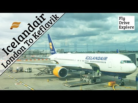 Icelandair Flight Review - London Heathrow To Keflavik Airport Iceland
