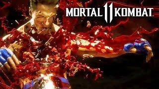 Mortal Kombat 11 - Johnny Cage vs Skarlet Official Gameplay