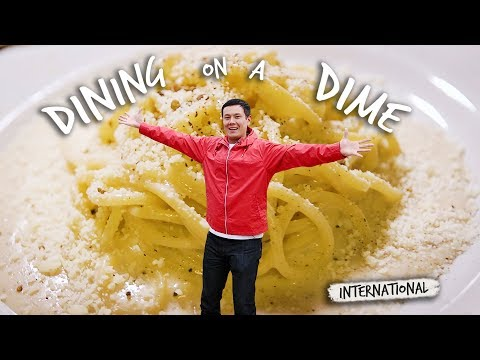 Cacio e Pepe, Pizza, Vespas, and More with Lucas Peterson — Dining on a Dime: International