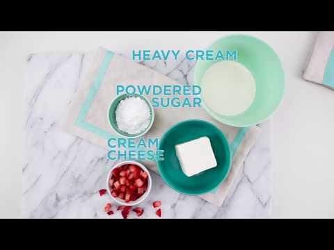 Strawberry Parfait- Foodie Files