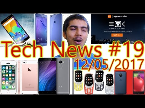 [हिंदी]Tech News #19- New Iphone SE|Finally Nokia Selling|Redmi 4 Launch Date|Micromax Canvas 2.....