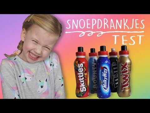 Snoep drankjes test