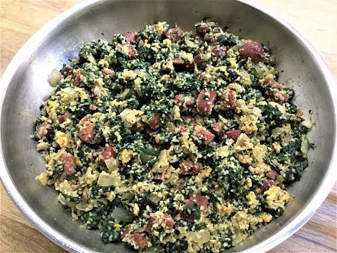 STIR-FRIED SPINACH RECIPE - So Easy, Yummy and Nutritious!