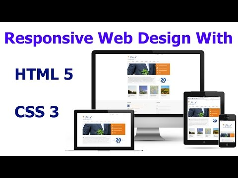 Responsive Web Design with html5 and css3 [HINDI] LATEST 2017