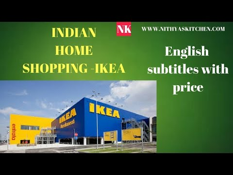 IKEA SHOPPING HAUL with price - INDIAN HOME with ENGLISH SUBTITLES
