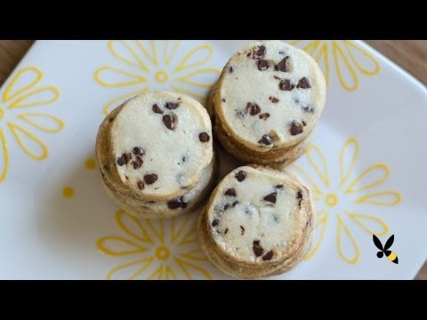 Chocolate Chip Shortbread Cookies Recipe