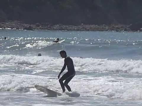 Slow motion surfing - every start is hard