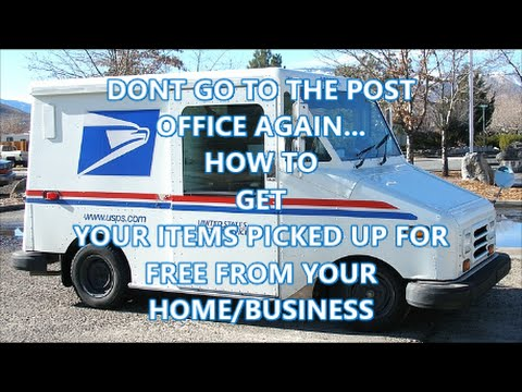 How to Get Your Ebay Packages Picked Up at Your Home...FOR FREE