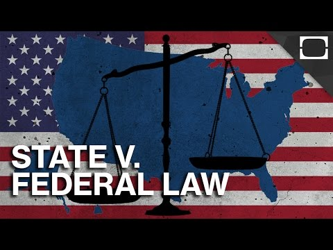 Can States Ignore Federal Law?