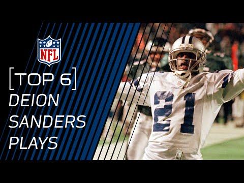 Top 6 Deion Sanders Versatility Plays | NFL