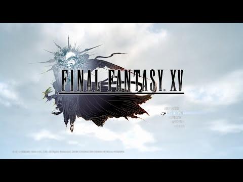 Final Fantasy XV - Time Lapse Day & Night Cycle (Main Menu)