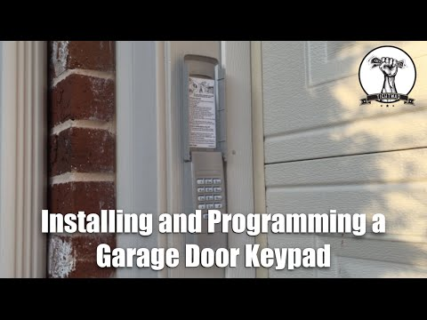 How To Install and Program A Garage Door Opener Keypad
