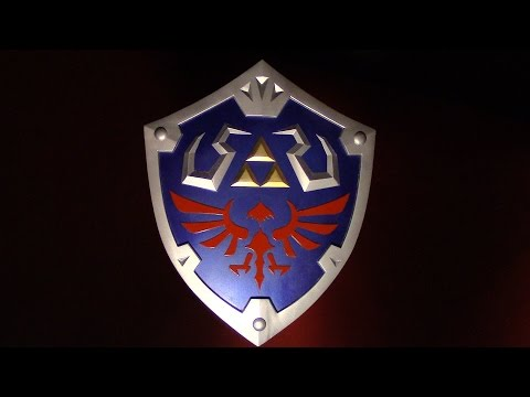 How to make Link's Hylian Shield PART 1 - Skyward Sword Zelda Cosplay