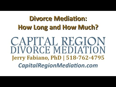 Divorce Mediation in New York: How long does it take? And how much does it cost?