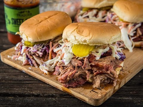 BBQ Pulled Pork Sandwich | Traeger Wood Pellet Grills