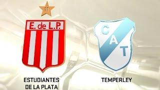 Estudiantes vs. Temperley. Fecha 4. Torneo de Primera División 2016/2017. FPT