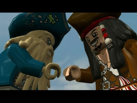 LEGO Pirates of the Caribbean Walkthrough Part 15 - The Maelstrom (At World's End Finale)