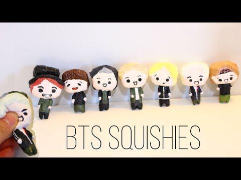 Homemade BTS Squishies
