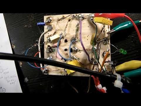 How to make a LED light up on tiny AC voltages (buffer/amplifier/LED driver)