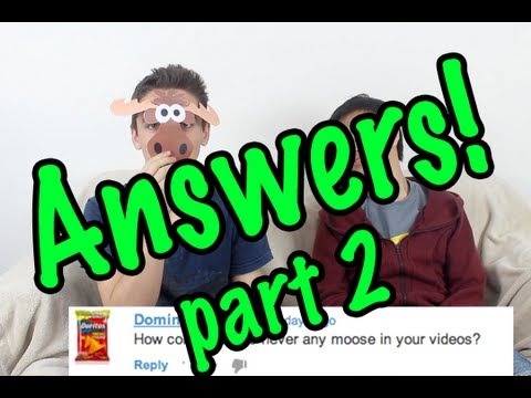 Technologycrazy Q&A - Answers! - Part 2