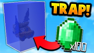 INSANE WATER SUFFOCATION TRAP in Minecraft Bed Wars!