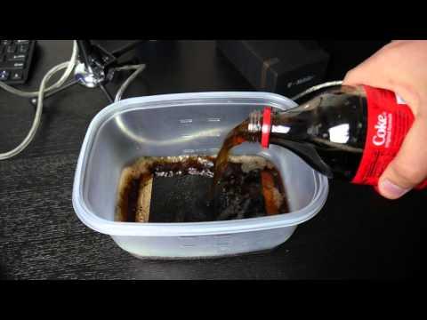 Galaxy S7 Edge Coca-Cola Test