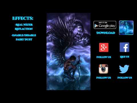 Fantasy Dragon Knight LWP 3D (v.1.0) - Live wallpaper by Exacron Full HD(1080p)