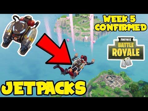 *NEW* Fortnite: Jetpacks CONFIRMED COMING! - Week 5 NEW LTM MODE & JETPACK LEAKED -
