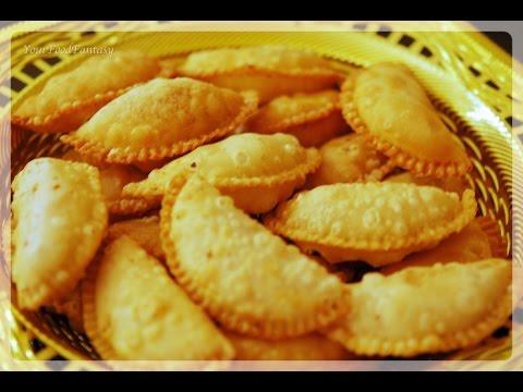 Mawa Gujiya Recipe | How to make Gujiya