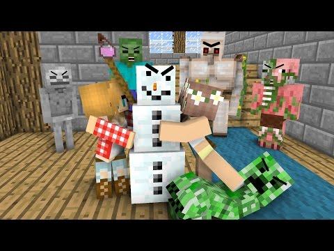 Monster School: Love Potion - Minecraft Animation