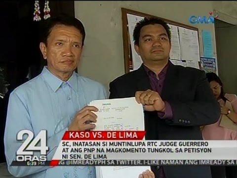 SC, inatasan si Judge Guerrero at ang PNP na magkomento tungkol sa petisyon ni De Lima