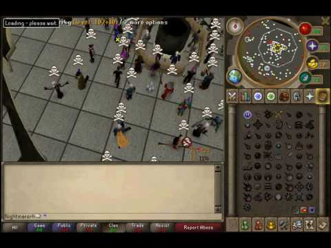 Runescape PvP World Pking Vid 14 NightmareRH's Pking