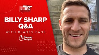 David McGoldrick to win a Blades Royal Rumble? | Billy Sharp Q and A with Sheffield United fans.