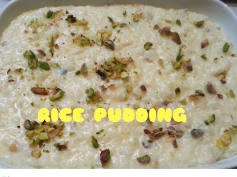 Simple Rice Pudding Recipe | How to Make Indian Rice Kheer,Easy Rice Flan Recipe,Nians Cooking Diary